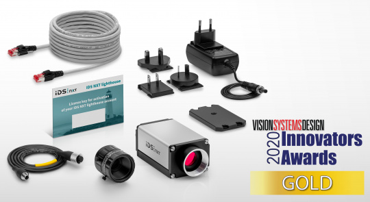 All-in-one inference camera solution from IDS receives VSD Innovators Award