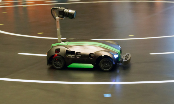 IDS cameras successful as eye of autonomous model vehicles