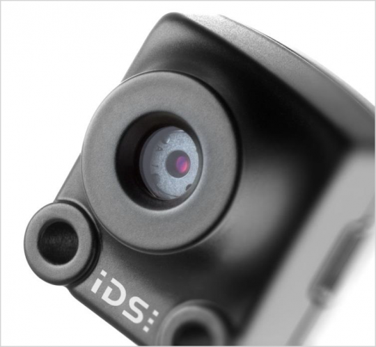 The USB 2 uEye XS combines the robust design of an industrial camera with the auto features of a conventional digital camera.