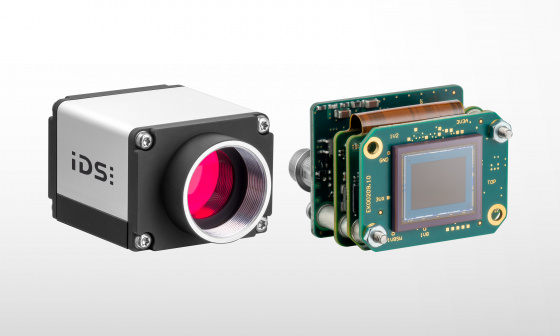 uEye SE GigE cameras with IMX183 available with housing and as board-level variants