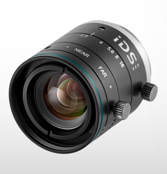 C-mount lenses from IDS cover a wide range of applications with resolutions of 2, 5, 8 and 10 MP