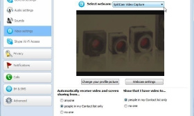With DirectShow, uEye cameras can also be used in typical webcam applications, such as Skype.