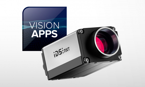 IDS NXT Vision App Creator: you determine what your IDS NXT camera is able to do