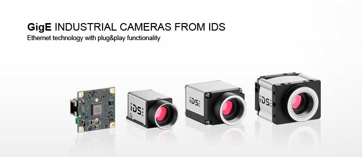 ---IDS uEye GigE camera, Gigabit Ethernet camera, housing version, board-level version, CMOS camera