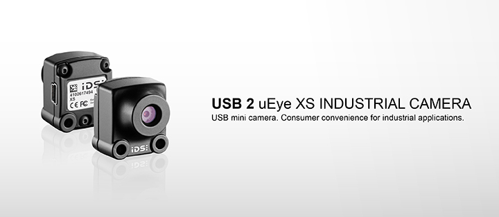 ---Industrial camera USB 2 uEye XS, 5 megapixel CMOS camera, autofocus, digital zoom, very small, really easy, just ingenious