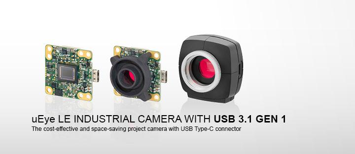 ---uEye LE USB 3.1 Gen 1 - USB 3.1 Gen 1 cameras with Type-C connector