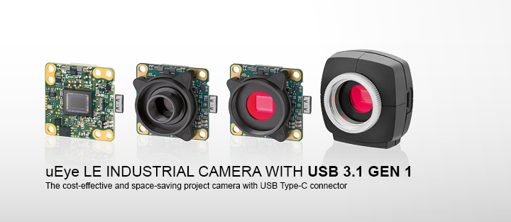 ---uEye LE USB 3.1 Gen 1 - USB 3.1 Gen 1 cameras with Type-C connector