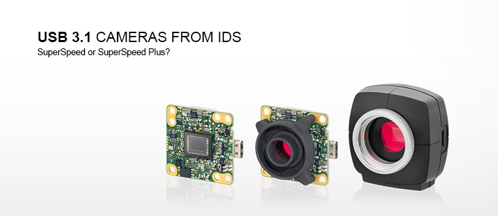 ---USB 3.1 cameras from IDS with USB Type-C connector
