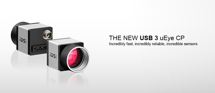 ---IDS CMOS camera, uEye industrial camera USB 3.0 CP, high resolution, extremely sensitive, incredibly fast