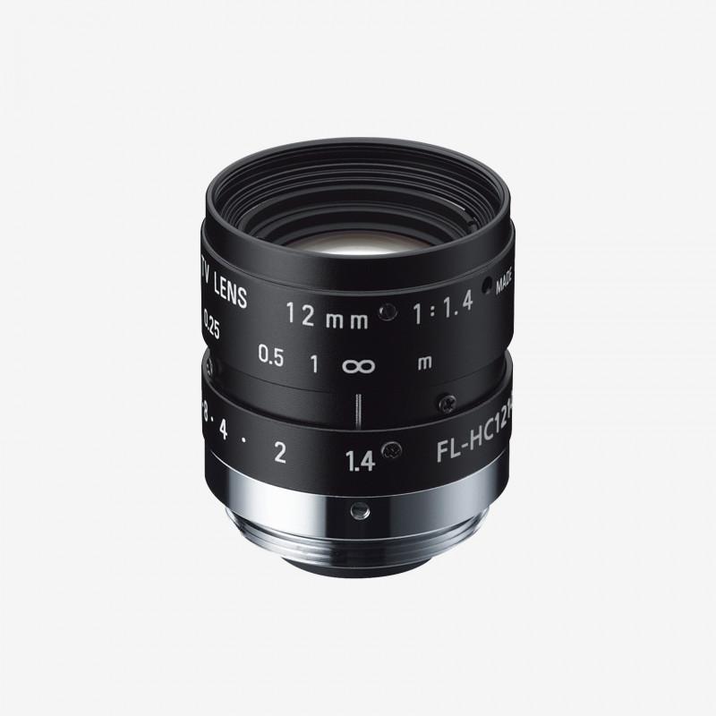 "Lens, RICOH, FL-HC1214-2M, 12 mm, 1/2"" C-Mount. 1/2"". 12 mm. Ricoh. AE005020740001"