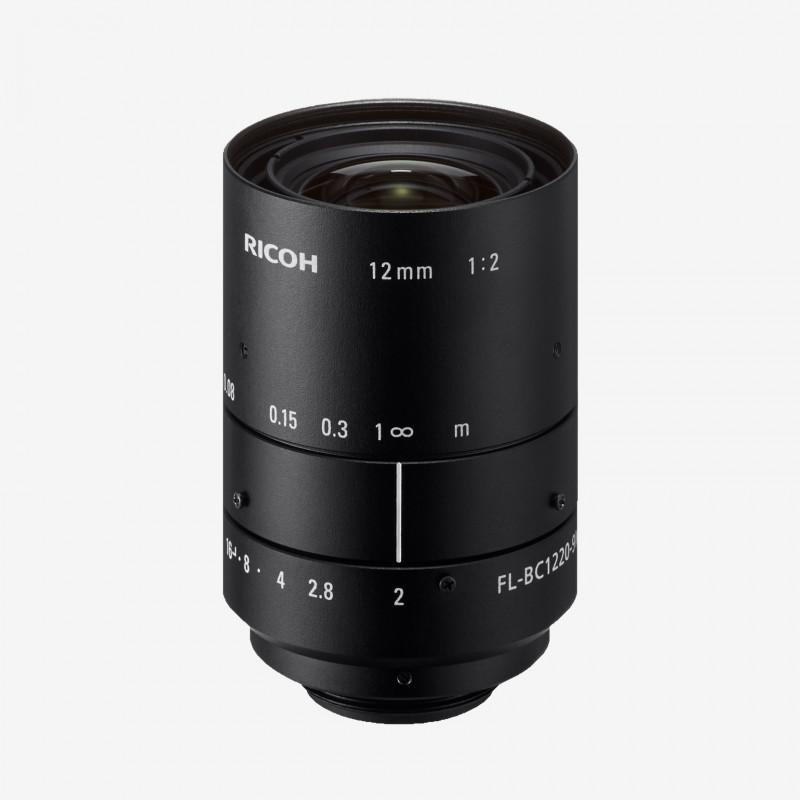 """Lens, RICOH, FL-BC1220-9M, 12 mm, 1"""""""