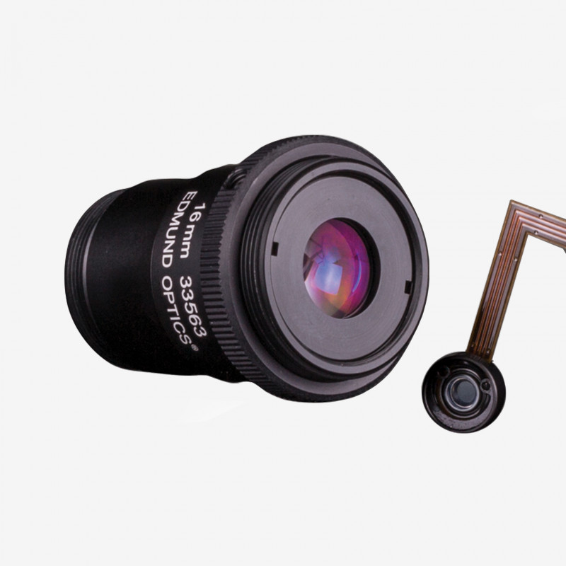 "Objektiv, Edmund, TECHSPEC Cx-Series, 16 mm, 2/3"" C-Mount. 1/1.8"". 12 mm. Edmund. AE00179"