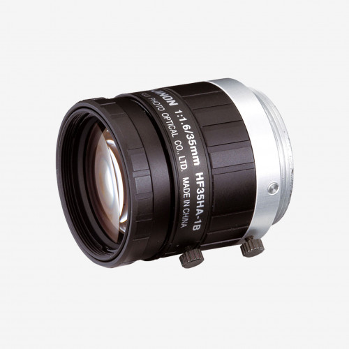 "Objektiv, Fujifilm, HF35HA-1S, 35 mm, 2/3"" C-Mount. 2/3"". 35 mm. Fujifilm. AE00267"