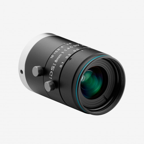 "Lens, IDS, IDS-2M23-C0814, 8 mm, 2/3"""