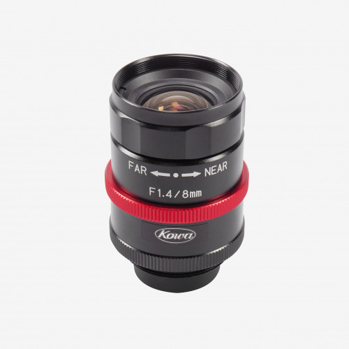 Lens, Kowa, LM8JCM-WP, 8 mm, 2/3""