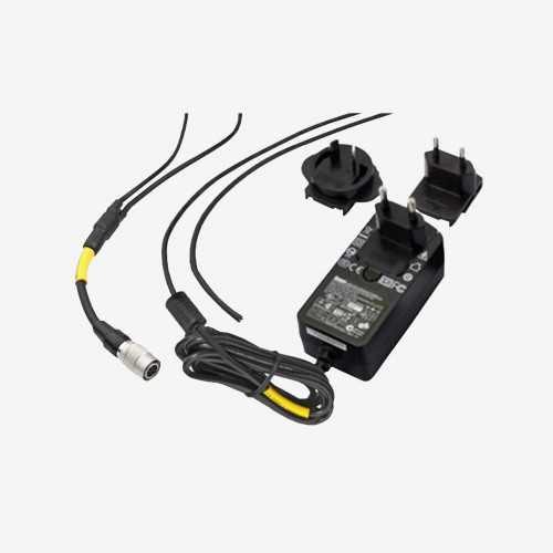 I/O + power, Y-cable, multinational power supply, straight, 1.8 m/5 m