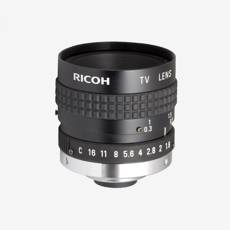"Lens, RICOH, FL-BC1218A-VG, 12.5 mm, 1"" C-Mount. 1"". 12.5 mm. Ricoh. AE005020020001"