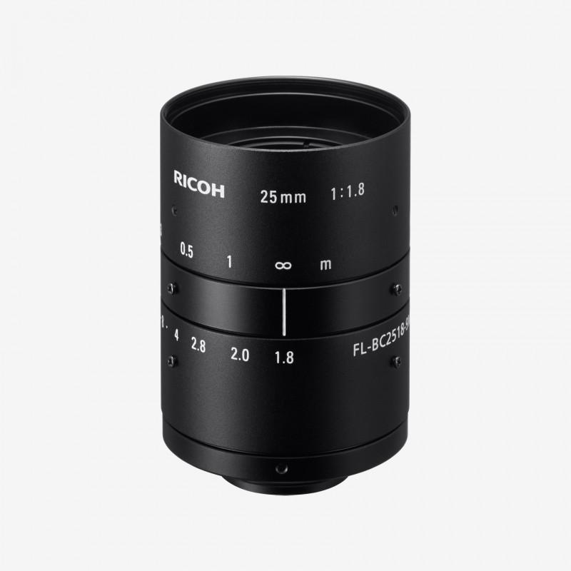 """Lens, RICOH, FL-BC2518-9M, 25 mm, 1"""" C-Mount.1"""".25 mm.Ricoh.AE00147"""