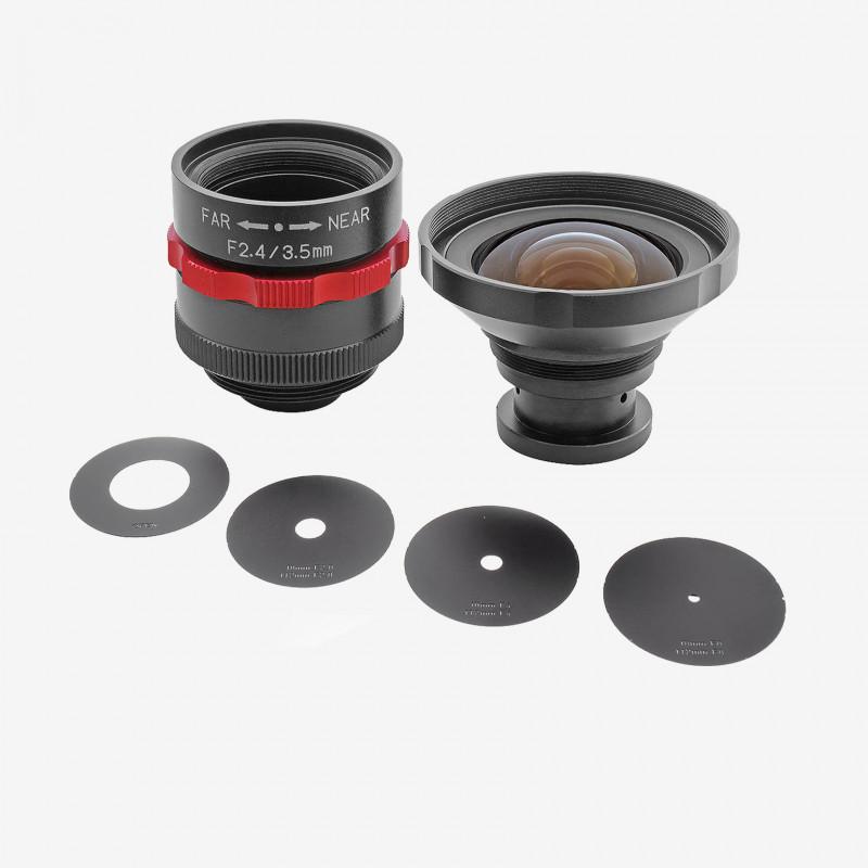 """Lens, Kowa, LM3NCM-WP, 3.5 mm, 1/1.8"""""""