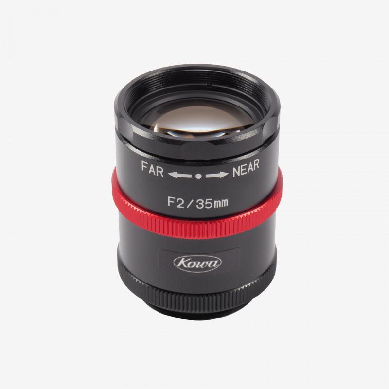 "Lens, Kowa, LM35JCM-WP, 35 mm, 2/3"""