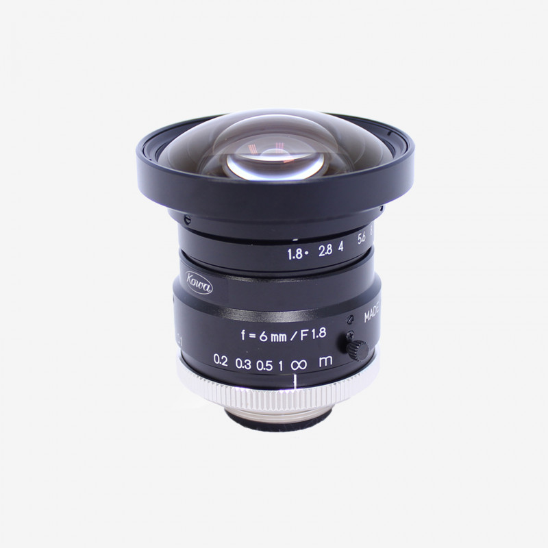 "Lens, Kowa, LM6HC, 6 mm, 1"""