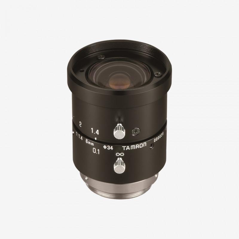 "Lens, Tamron, M118FM06, 6 mm, 1/1.8"""