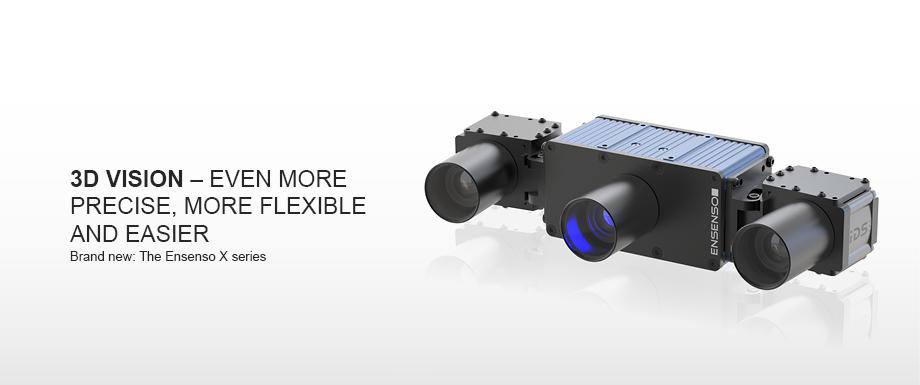 3D Vision -  Even more precise, more flexible and easier. Brand new: The Ensenso X series