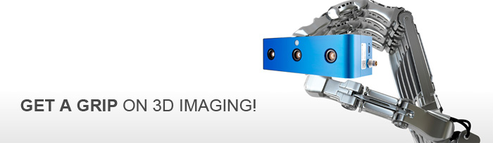 IDS Ensenso stereo 3D cameras with GigE and USB for 3D Machine Vision, fast, simple (easy?), precise