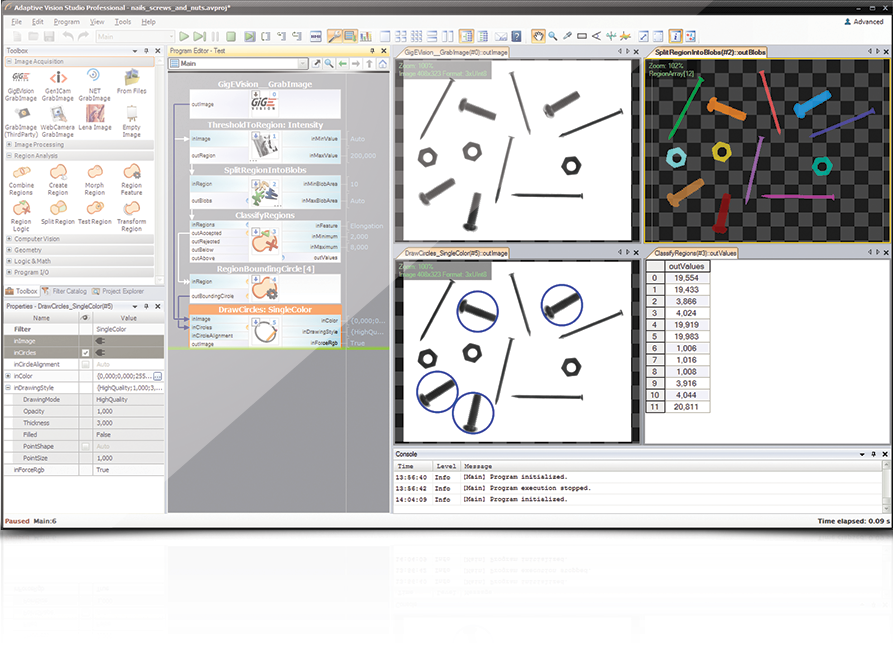 Adaptive Vision - easy-to-use machine vision software - IDS