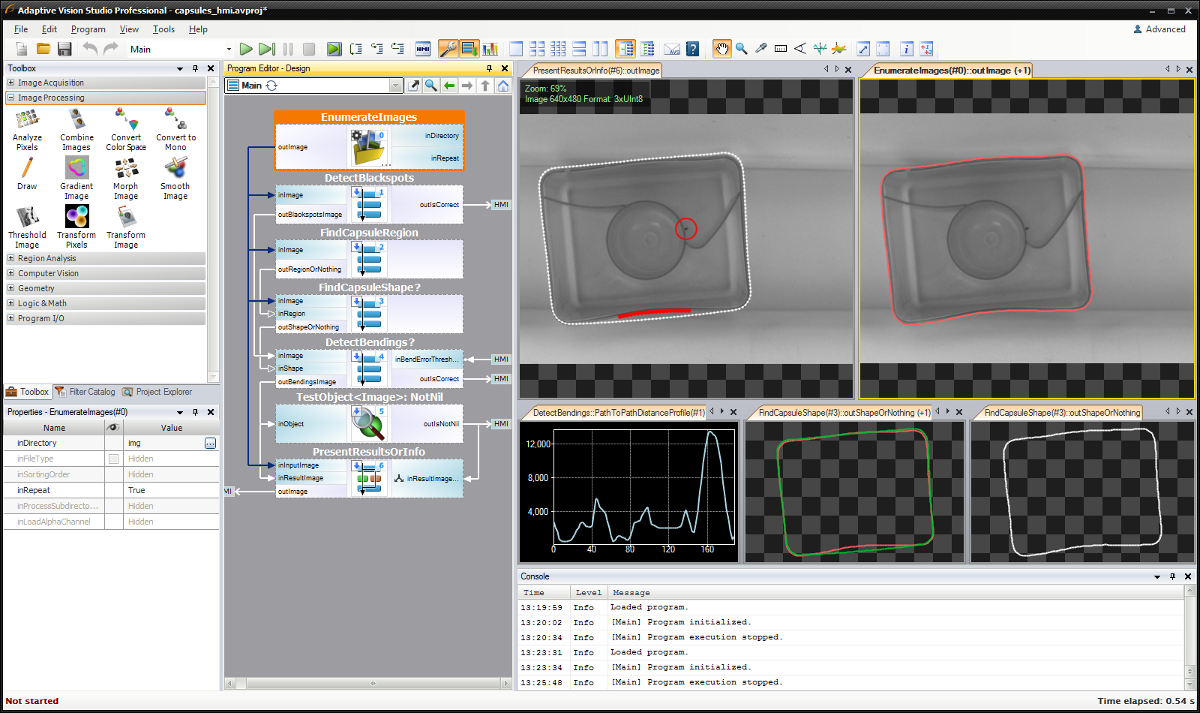 Adaptive Vision - easy-to-use machine vision software - IDS Imaging